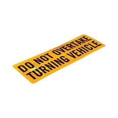 Companion Do Not Overtake Sticker, , bcf_hi-res