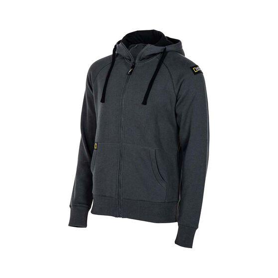 National Geographic Men's Hooded Fleece, Dark Grey, bcf_hi-res