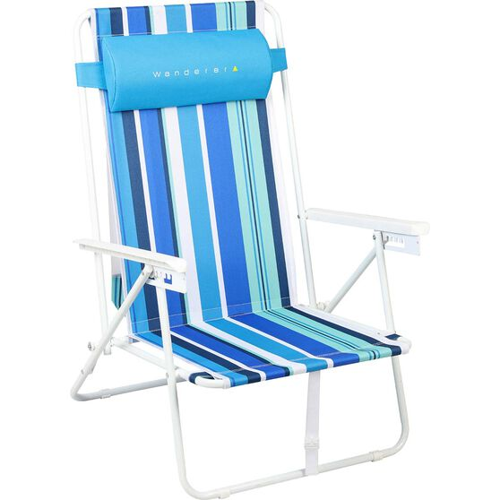 Wanderer Summer Stripe Beach Chair, , bcf_hi-res