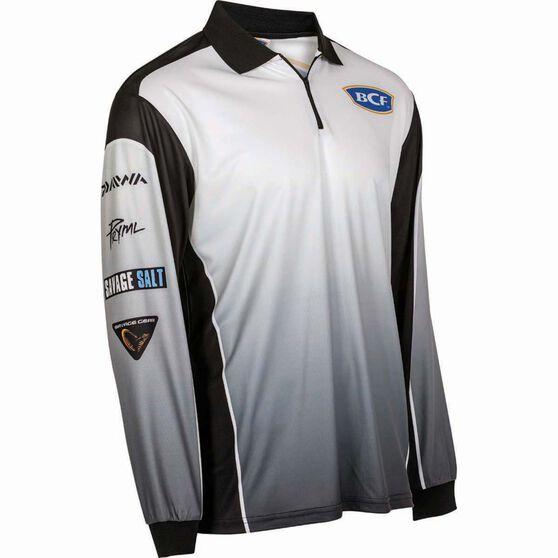 BCF Men's Corporate Sublimated Polo Black 2XL, Black, bcf_hi-res