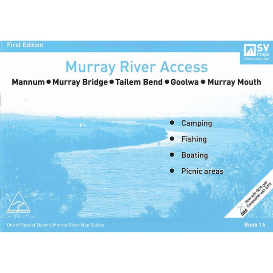 AFN Murray River Access Map 16 Mannum to Murray Mouth, , bcf_hi-res