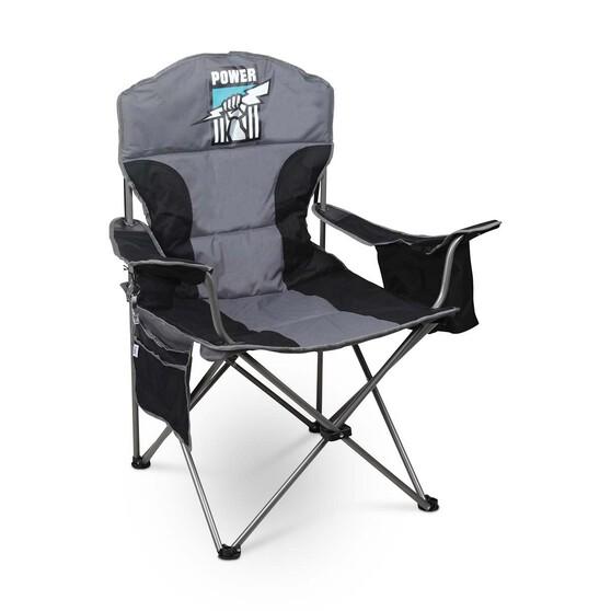 AFL Port Adelaide Power Cooler Arm Chair, , bcf_hi-res