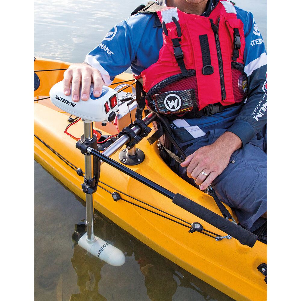 Watersnake Asp T24 Electric Motor With Kayak Bracket Bcf