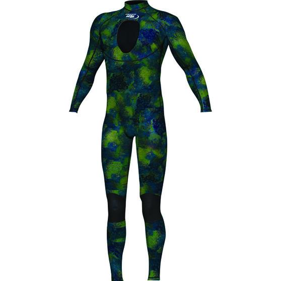 Spearo Steamer Wetsuit, Camo, bcf_hi-res
