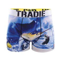 Tradie Men's Fishing in Danger Trunks, , bcf_hi-res
