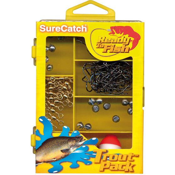 Surecatch Tackle Set - Trout Pack, , bcf_hi-res