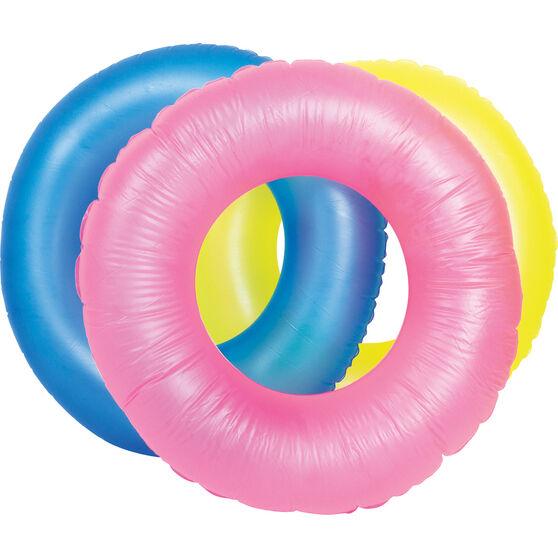 Bestway Inflatable Fluorescent Swim Ring, , bcf_hi-res