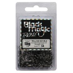 Black Magic Rolling Swivel 34 Pack, , bcf_hi-res