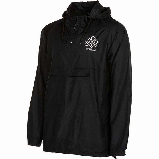 BCF THREADS Men's Classic Spray Jacket Black S, Black, bcf_hi-res