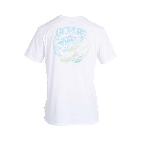 Quiksilver Waterman Men's Pacific Schools Tee, White, bcf_hi-res