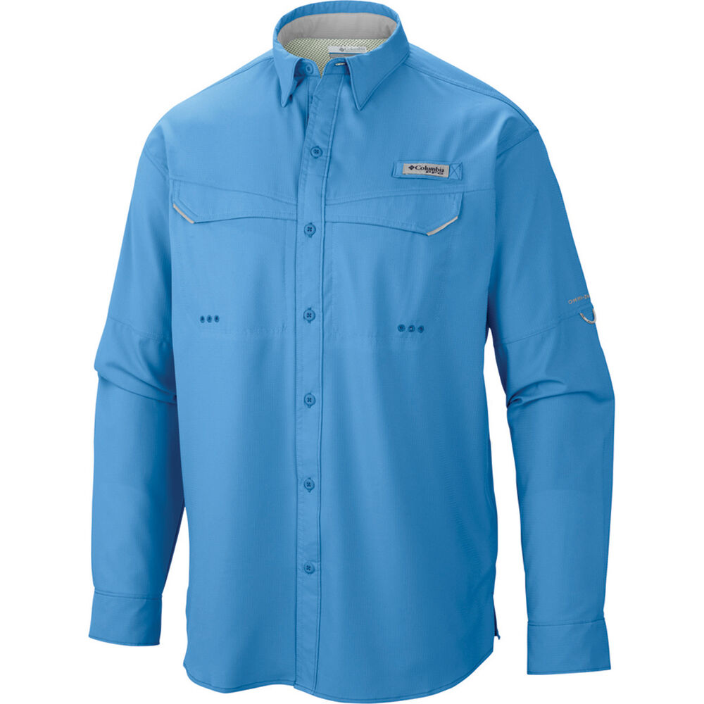 bfbbf22120b Columbia Men's Low Drag Offshore Long Sleeve Shirt Yacht S, Yacht,  bcf_hi-res