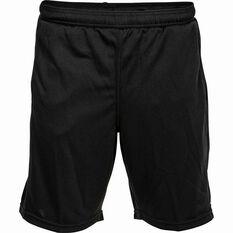 BCF Printed Mesh Shorts Black S, Black, bcf_hi-res