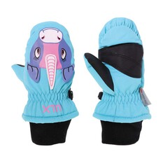 XTM Kids Puppett Mitts, Aqua Unicorn, bcf_hi-res
