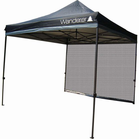 Wanderer Gazebo Ultimate Heavy Duty Mesh Wall Kit 3x3m, , bcf_hi-res