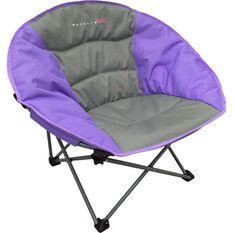 Kids' Moon Quad Fold Chair, Purple, bcf_hi-res