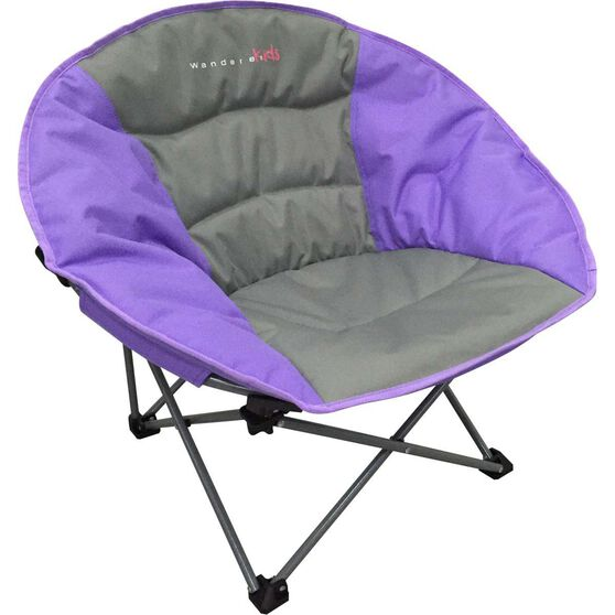 Wanderer Kids' Moon Quad Fold Chair Purple, Purple, bcf_hi-res
