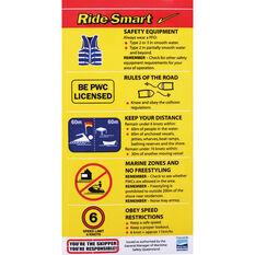 BLA Ride Smart Boat Sticker, , bcf_hi-res