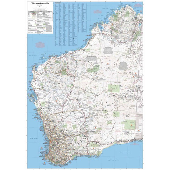 Hema Western Australia State Map (11th Edition), , bcf_hi-res
