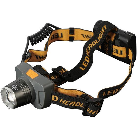 Focus Aluminium Headlamp, , bcf_hi-res