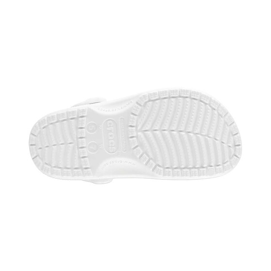 Crocs Unisex Classic Clog, White, bcf_hi-res