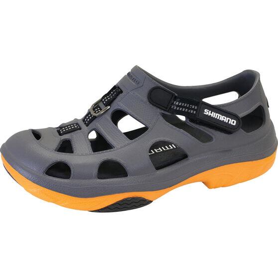 Shimano Men's Evair Aqua Shoes, Grey / Orange, bcf_hi-res