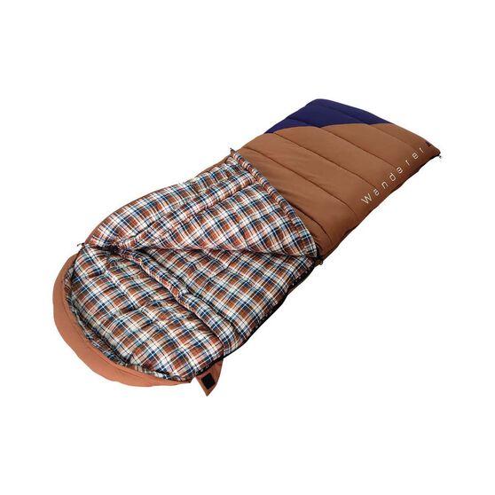 Wanderer Grand Yarra Cotton Hooded Sleeping Bag, , bcf_hi-res