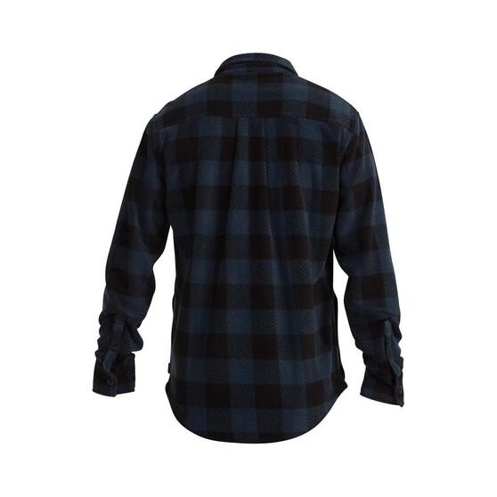 Quiksilver Men's North Sea Expedition Long Sleeve Shirt, Atlantic Deep, bcf_hi-res