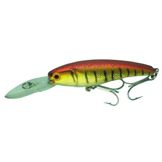 Neptune Mighty Minnow Hard Body Lure 65mm Gold Red 65mm, Gold Red, bcf_hi-res