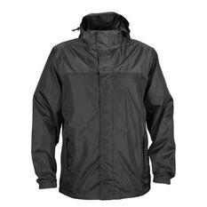 Explore 360 Men's Storm Shell II Jacket Black XS, Black, bcf_hi-res