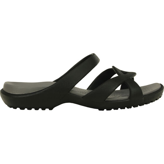 Crocs Women's Meleen Twist, Black / Smoke, bcf_hi-res