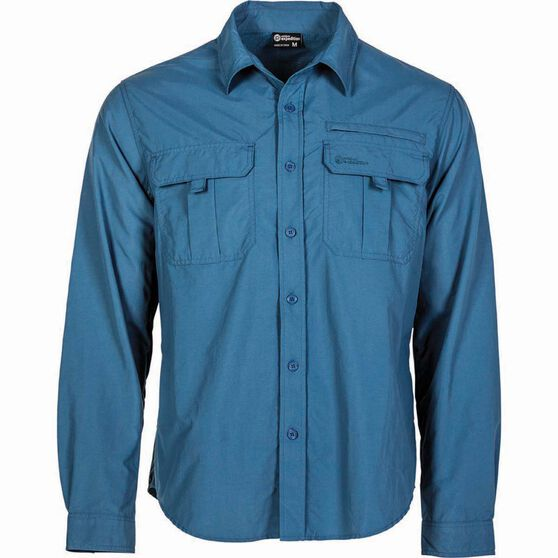 Outdoor Expedition Men's Vented Long Sleeve Shirt, , bcf_hi-res