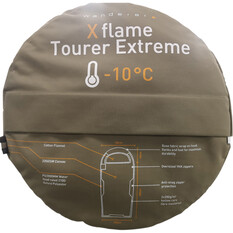 Wanderer XFlame Tourer Extreme -10C Hooded Sleeping Bag, , bcf_hi-res