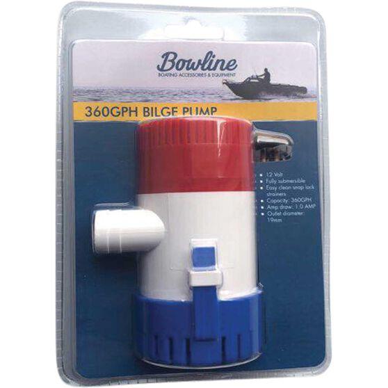 BOWLINE 360GPH Bilge Pump, , bcf_hi-res