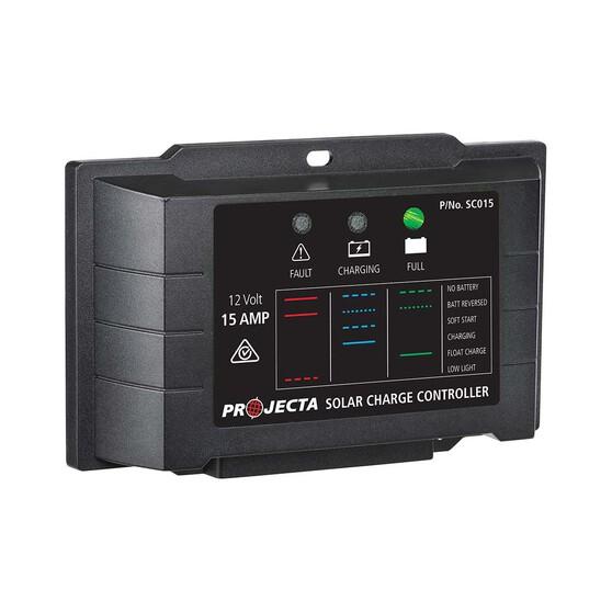 Projecta 12v 15amp Solar Charge Controller, , bcf_hi-res
