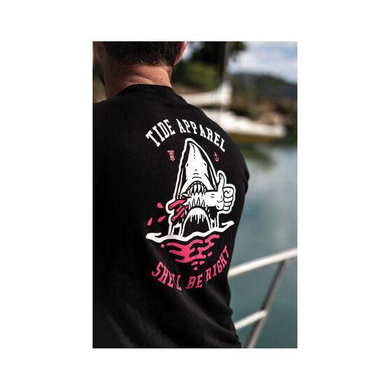 Tide Apparel Men's Sinking Tee, Black, bcf_hi-res