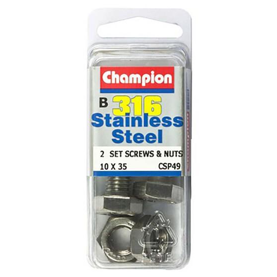 Champion Screws and Nuts - 4mm X 20mm, , bcf_hi-res