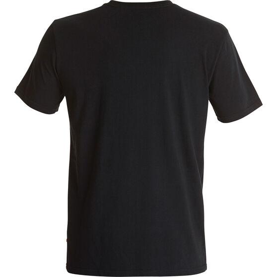 Quiksilver Men's Dormant Rishiri Tee Black L, Black, bcf_hi-res
