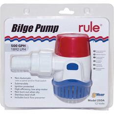 Rule Bilge Pump 12V 500GPH, , bcf_hi-res