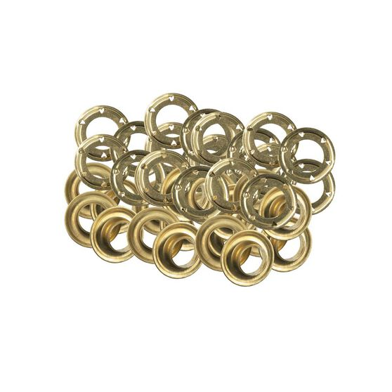 Oztrail Eyelets/Washers 20 Pack Size 4, , bcf_hi-res