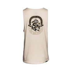 The Mad Hueys Men's Sea Snake UV Tank Cement S, Cement, bcf_hi-res
