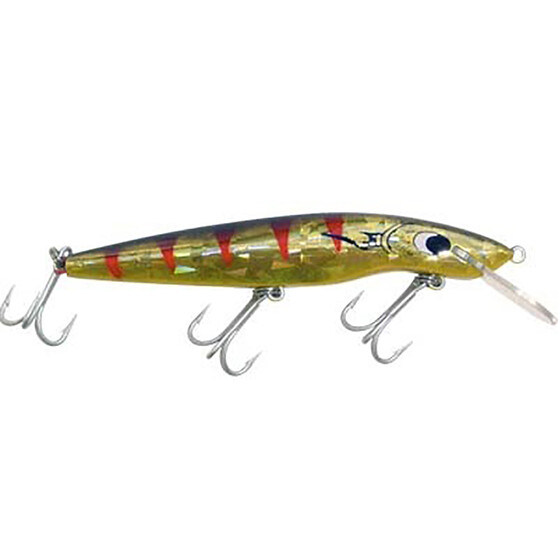 Classic 97 Hard Body Lure 97mm, Gold Mullet Dazzler, bcf_hi-res