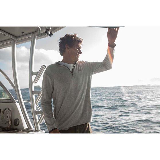 Quiksilver Men's Sea Explore High Neck Jacket Grey Marle S Men's, Grey Marle, bcf_hi-res