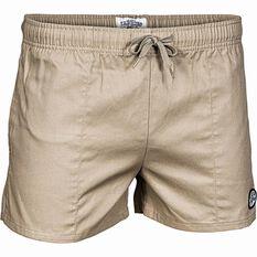 Tide Apparel Men's Yabbies Shorts, Khaki, bcf_hi-res