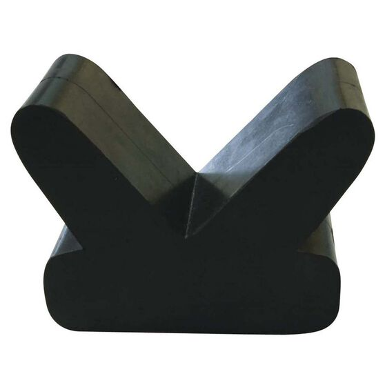 ARK Bow Rubber V Block 4in, , bcf_hi-res