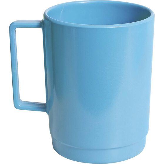 Campfire Melamine Stackable Mug, Blue, bcf_hi-res