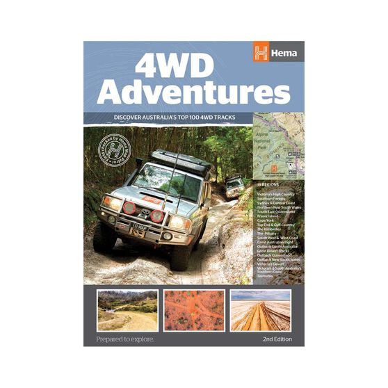 Hema 4WD Adventures 2nd Edition Reference Book, , bcf_hi-res