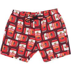 Bush Chook Men's Canned Chook Volley Shorts Print S, Print, bcf_hi-res