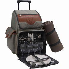 Premium Roller Bag Picnic Set 4 Person, , bcf_hi-res