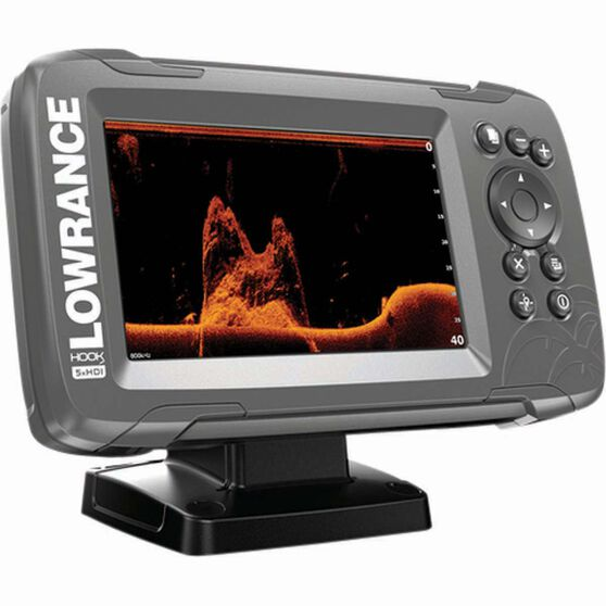 Lowrance Hook²-5x GPS Fish Finder + SplitShot Transducer, , bcf_hi-res