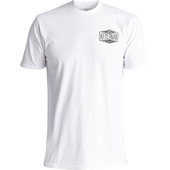 Quiksilver Men's 35 Miles Tee White XL, White, bcf_hi-res